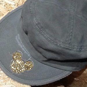 Disneyland Resort Blingy Micky Military Cap